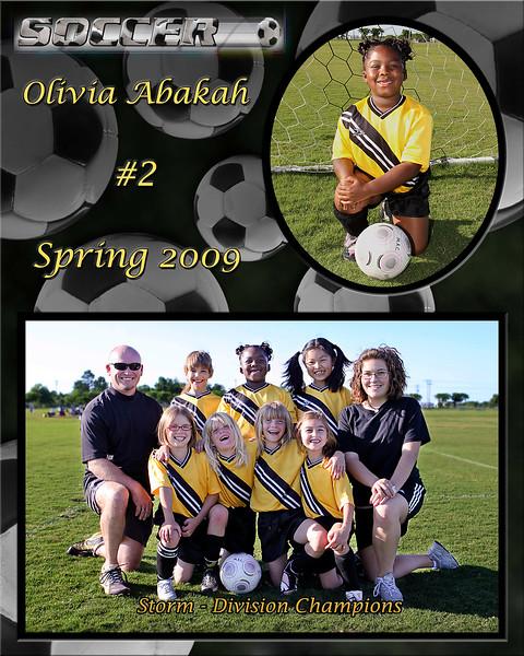 Olivia Spring 2009 team