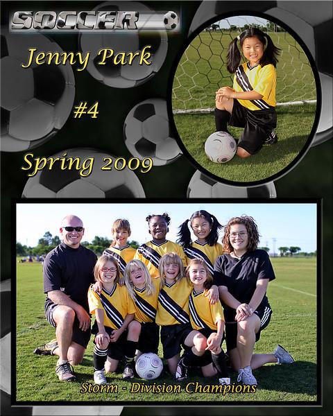 Jenny Spring 2009 team