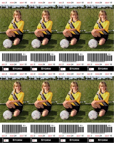 Bayleigh Sports Tickets 8x10