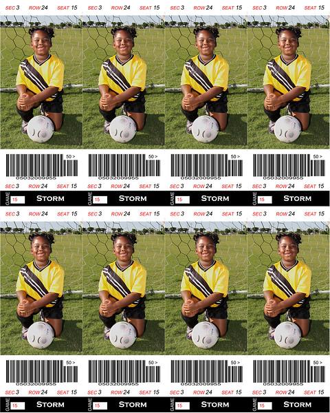 Olivia Sports Tickets 8x10