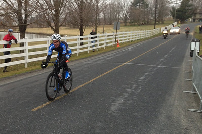 Barry rolling in the Senior Cat 5