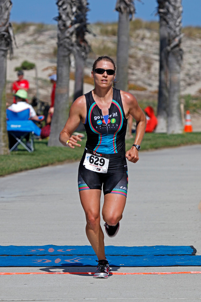 Christine Bare : W-3 : Time 2:06:12.1 (15+ minutes better than last year)