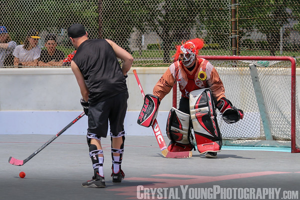 Walter Gretzky Street Hockey - Crystal Young Photography