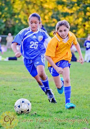 Girls u9- u11 Suffield Soccer Windsor tournament