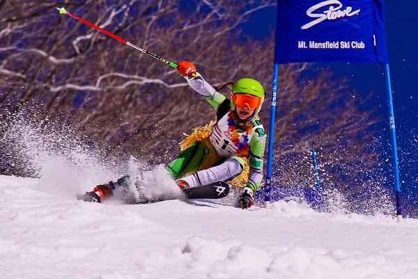 Stowe Sugar Slalom 2011 - 1st Run