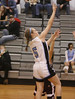 Sullivan West Vs. O'Neill Girls Basketball : Sullivan West girls close out their learning curve season at 3-15 with a 37-18 loss to sectional-bound O'Neill. Lady Raiders led by Danielle Riley who scored 18 but may have sustained a concussion with a hard fall to the floor.