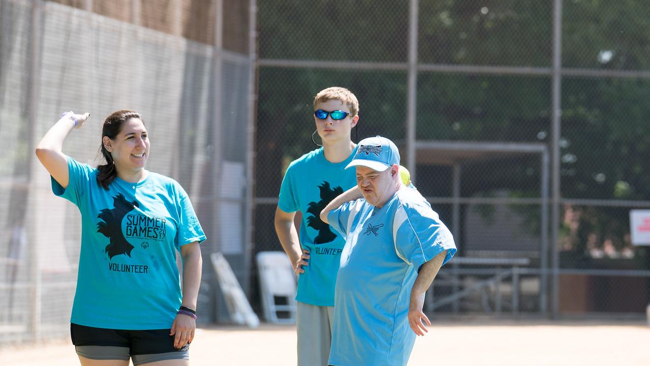 Speical Olympics 2017 Summer Games Softball Skills