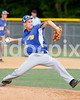 East Wake starting pitching Zach Toney (32)  held the CHHS Pirates scoreless for 5 innings. Photo by Dean Strickland OD.
