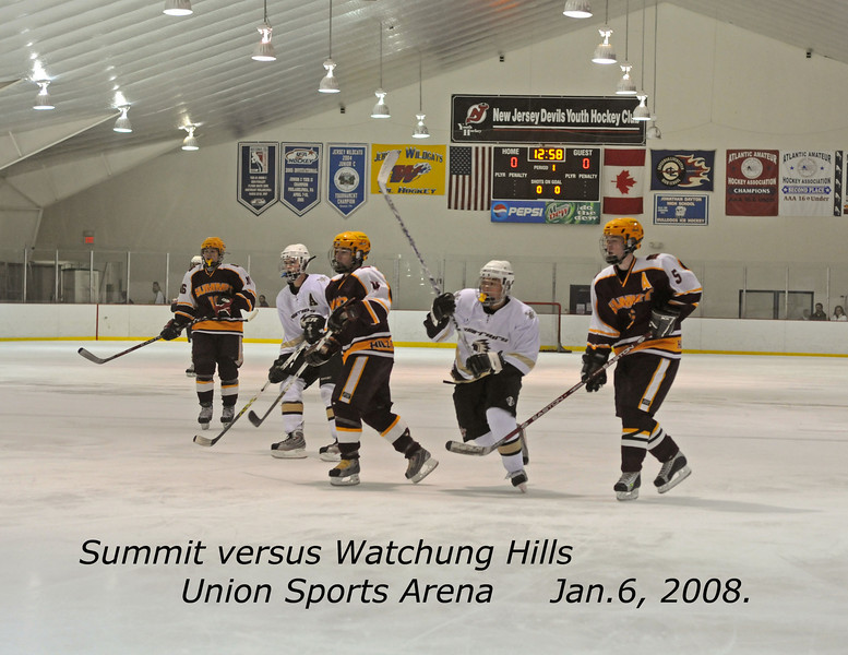 050108 - 001 Watchung Hills 1-5 at Union Jan05 ac  Game, Arena and Date