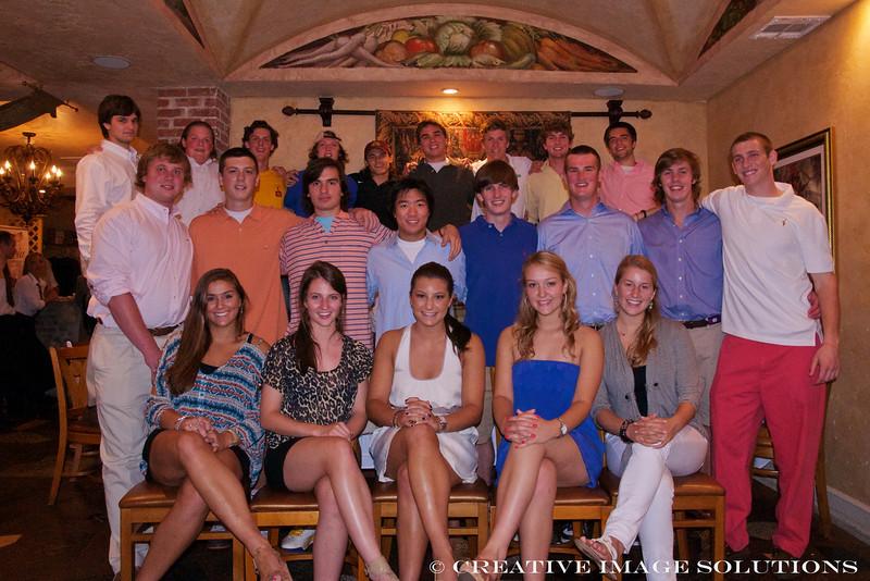 Senior Dinner at LaPasteria June 2011   42416
