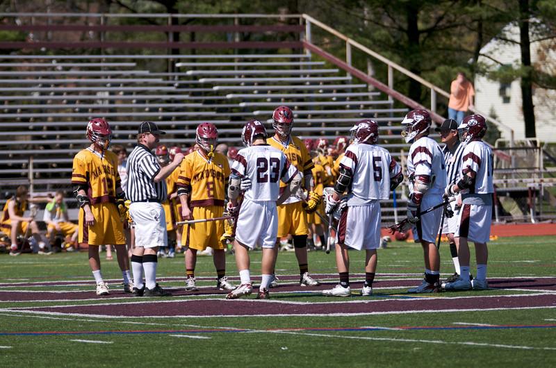 Varsity Lacrosse vs Madison 12-6 Apr 25 @ Metro  7359