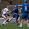 Varsity Lacrosse vs Westfield 14-1 Apr 8 @ Metro  5598