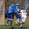 Varsity Lacrosse vs Westfield 14-1 Apr 8 @ Metro  5561