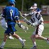 Varsity Lacrosse vs Westfield 14-1 Apr 8 @ Metro  5565