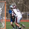 Varsity Lacrosse vs Westfield 14-1 Apr 8 @ Metro  5575