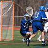 Varsity Lacrosse vs Westfield 14-1 Apr 8 @ Metro  5563