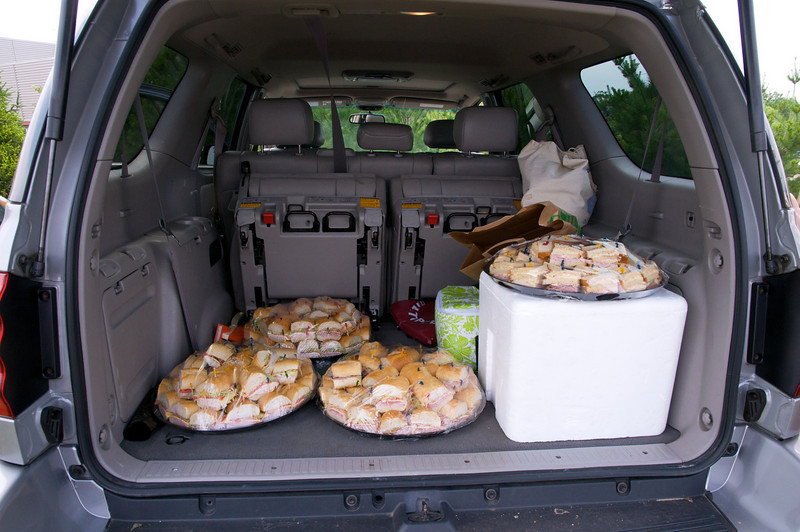 Starts with a tailgate .....