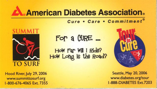 This year's Tour de Cure logo for the ADA