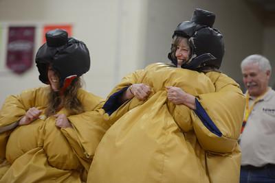 Sumo Wrestling for Challenger Baseball 2013
