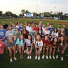 Sun All Stars honored at LeLacheur Park before Spinners game. (SUN/Julia Malakie)