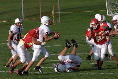 Sun Prairie High School JV Football (9/19/2008)