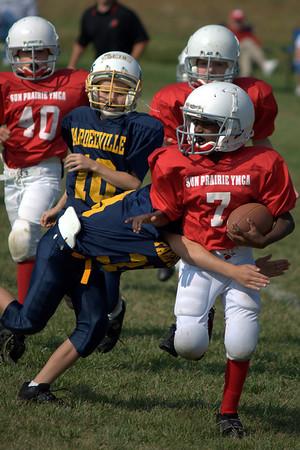 Sun Prairie Red Football - 9/27/2008