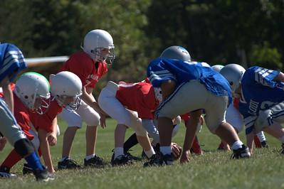 Sun Prairie Red Football - 10/4/2008