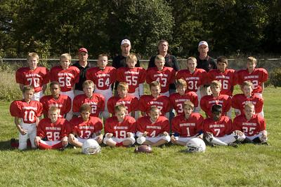 Sun Prairie Red Football - Team Photos (2008)