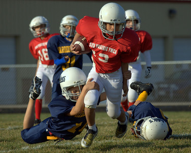 Sun Prairie Red Football - 10/11/2008
