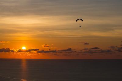 Sunset Flight with Alberto