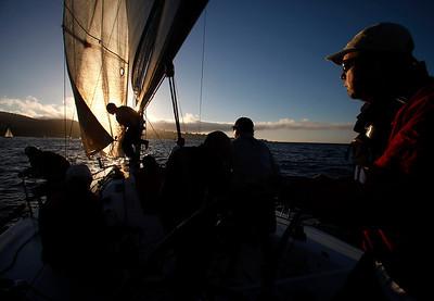 Sunset Series Sailboat Races 100213