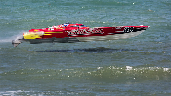 Twisted Metal Racing Boat - Super Boat Internationals- Cocoa Beach, Florida 2015