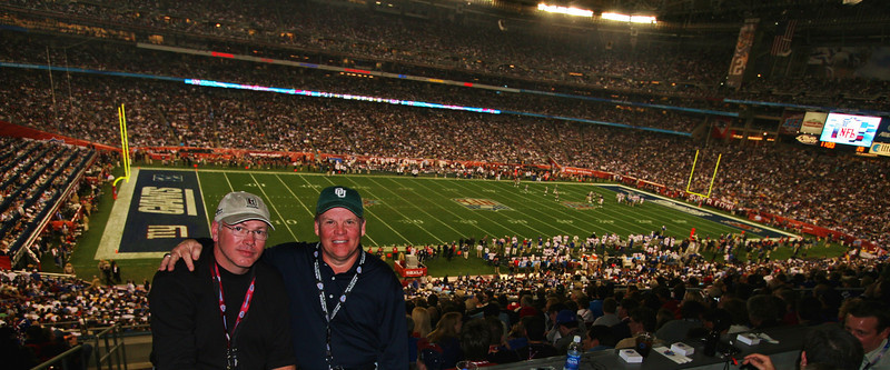 Two OU Bobcats at Super Bowl XLII