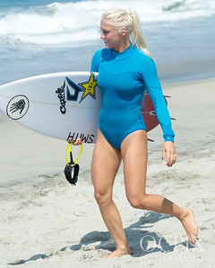 Tatiana Weston-Webb at the 2016 Supergirl Pro