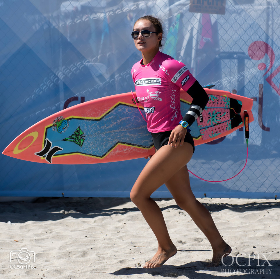 Meah Collins at the 2016 Supergirl Pro