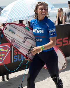 Sage Erickson at the 2017 Supergirl Pro