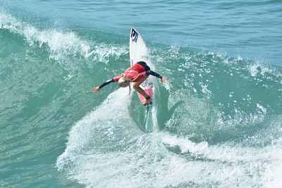 Rubiana Brownell at the 2019 Super Girl Pro Surfing Competition in Oceanside