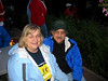 """Sue and Jim Blanchard.  Jim is having a """"rebuilding year"""" so opted to end his run at 25 miles upright and healthy."""