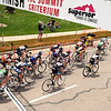 "The Pro Women finish their first lap of the race on Saturday, May 28, during the Summit Criterium Bike Race in Superior. For more photos of the festival go to  <a href=""http://www.dailycamera.com"">http://www.dailycamera.com</a><br /> Jeremy Papasso/ Camera"