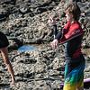 Ana y Yngwie calentando - Playa Punta Gorda - Corralejo - Fuerteventura - España
