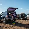 Alistandose para una sesión de surf - Playa Punta Gorda - Corralejo - Fuerteventura - España
