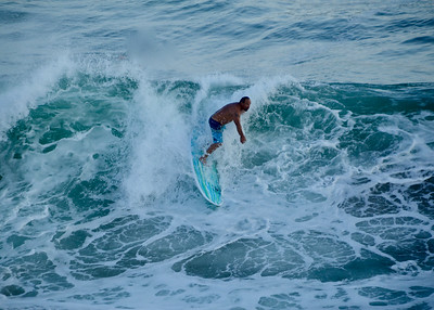 Surfers - Huntington Beach Pier
