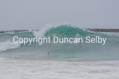 The Wedge  bodysurfing