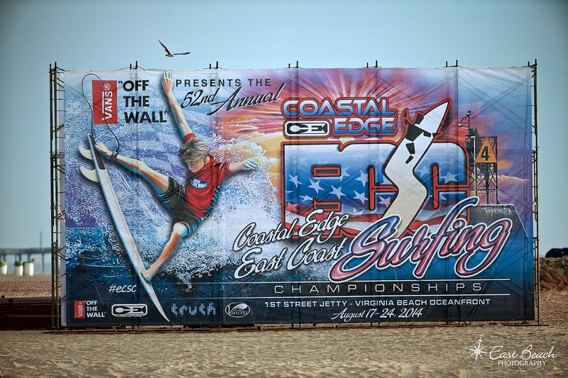 52nd East Coast Surfing Championship Banner