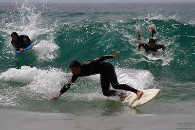 Surfing and Bodyboarding