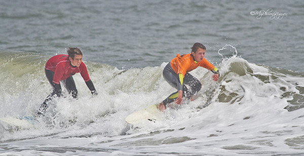 Surfing at Ocean City
