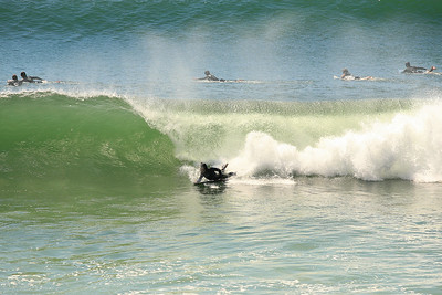 Surfing at Burleigh Heads, Wednesday 9-9-2009. What a day! :)