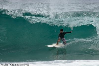 Burleigh Heads Surfing photos - Breaka Burleigh Surf; 19 February 2010