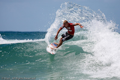 Mick Fanning - Burleigh Heads Surfing Photos - Breaka Burleigh Surf Pro, 20 February 2010
