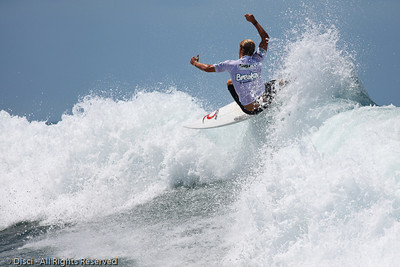 Best of Saturday: Breaka Burleigh Surf Pro; 20 February 2010, Burleigh Heads, Gold Coast, Queensland, Australia. Photos by Des Thureson.